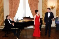 Evening recital at Cercle Gaulois with Wilfried Van den Brande and Daniel Blumenthal, June 2015