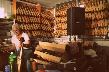 Lyra Manufacturer and player in Kafkasos, Florina, Greece