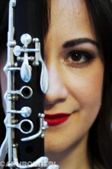 Clarinetist Panagiota Giannaka