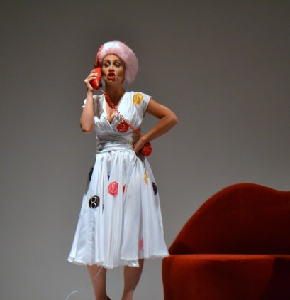 Lucy, The Telephone or L'Amour a Trois by Menotti, Director Georgios Trikkaliotis, Florina June 2014