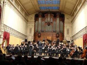 The Lost Labyrinth by Kevin Houben, Harmonieorkest, Conductor Manu Mellaerts, Brussels Koninklijk Conservatorium, March 2017.