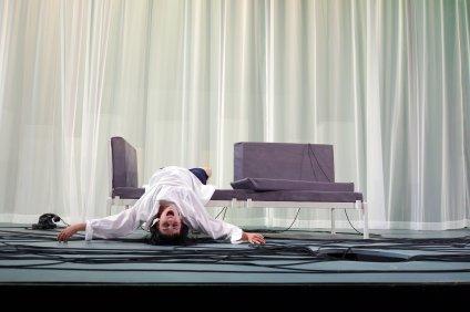 La Voix Humaine, Berlin 2018, Director Frank Hilbrich, photo: Christina Giakoumelou