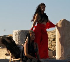 Goddess Aphrodite, Hera Descends on Delos, World Premiere on the sacred island of Delos, 2018, director: Thodoris Abazis